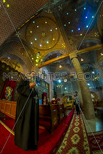 inside The oldest church in the city of Rashid
