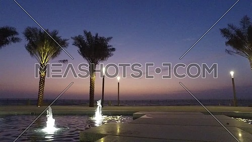 Cornish Jeddah waterfront fountain