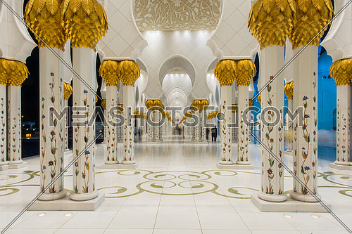 Sheikh Zayed grand Mosque Abu Dhabi UAE