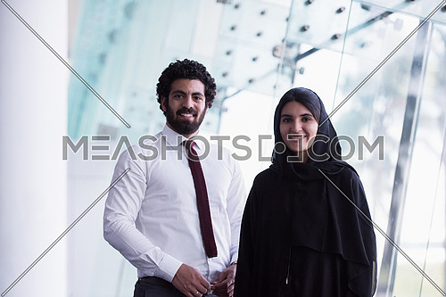 portrait of young arab middle eastern  couple