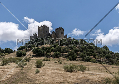 Castle of Almodovar del Rio, It is a fortitude of Moslem origin, it was a Roman fort and the current building has definitely origin Berber, of the year 760, Almodovar del Rio, Spain