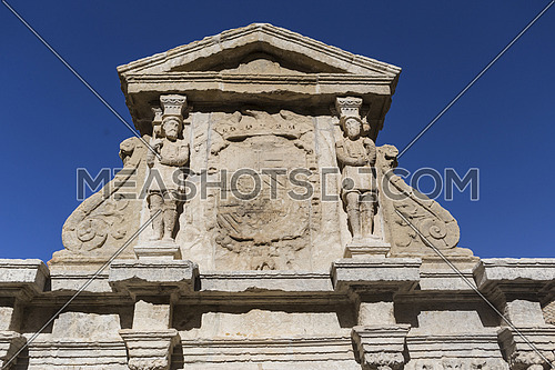 Detail of Fountain of Saint Mary, Baeza, Spain