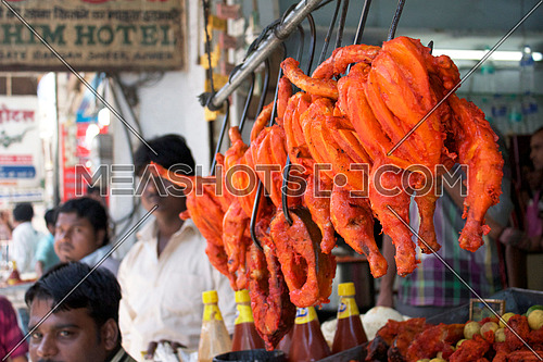 street market in pushkar india