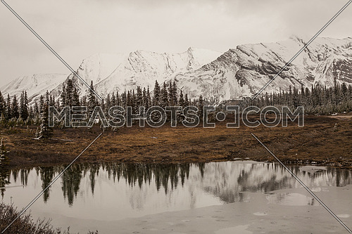 A little lake on Icefield Parkway, Alberta, Canada
