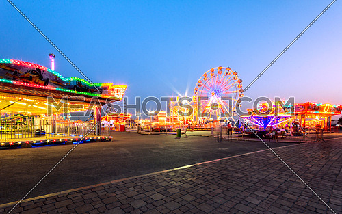 amusement theme park