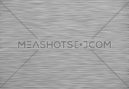 Background texture of brushed silver, steel or aluminum metal surface