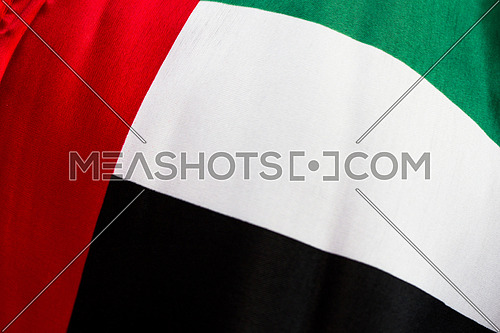 Uae Flag close up