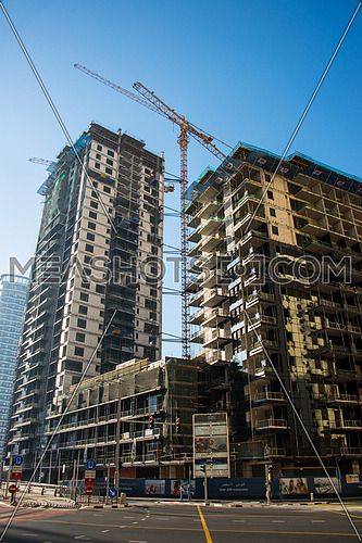 a building under construction in dubai