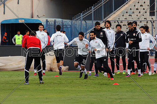 Egypt national football team training