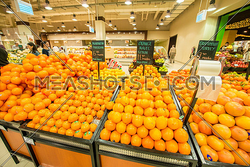 Fruits in a supermarket