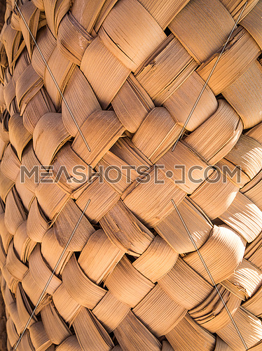bamboo knitted together
