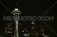 Seattle's Space Needle early evening (3 of 4)