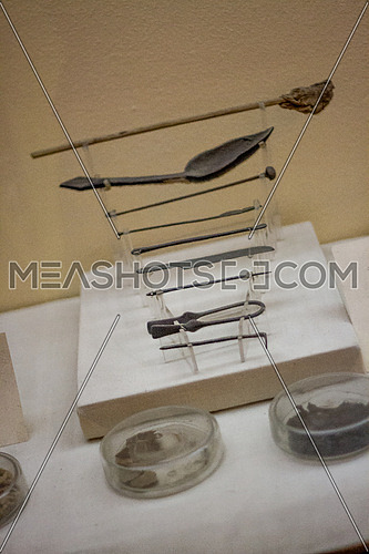 Surgical tools used for Mummification