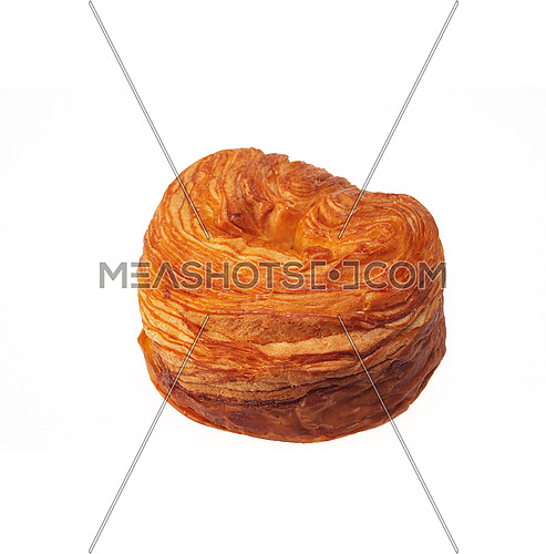 fresh baked sweet bread isolated over white