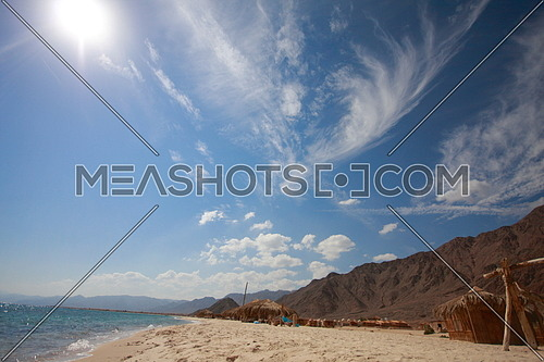 A Beach Camp in Nuweiba city, EGYPT