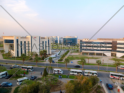Business Building complex in smart village Egypt