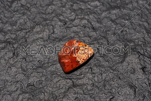 Carneol gemstone. This gem is used as a jewel stone and also in alternative medicine