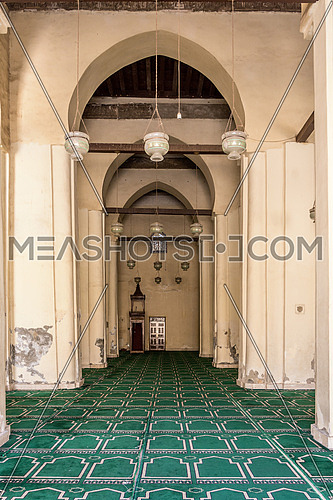 ELHakem Mosque interior praying area
