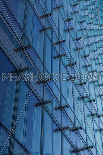 a glass office building in the European Quarter of Brussels, Belgium