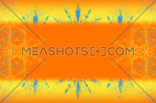 Colorful Abstract Vivid Color Background 3D Illustration