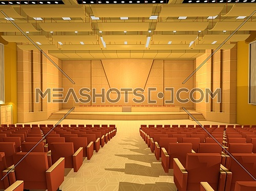 Empty Conference hall or room