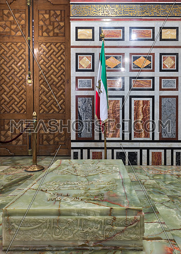 Tomb of the Reza Shah of Iran, Al Refaii Mosque (Royal Mosque), Cairo, Egypt