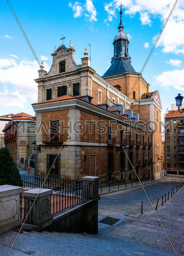 A church in the city of zaragoza