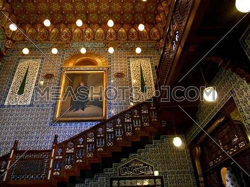 The Manial Palace and Museum, (mohammed ali palace):- is a former Ottoman Egyptian dynasty era palace and grounds on Rhoda Island in the Nile, Sharia