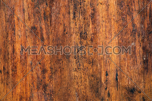 Old vintage dirty brown grunge wood aged background texture with black wooden stains