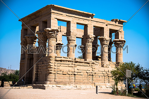 Feiala Temple In Aswan - Egypt