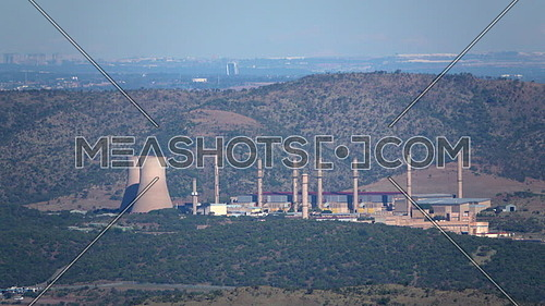 View of the Pelindaba nuclear research facility