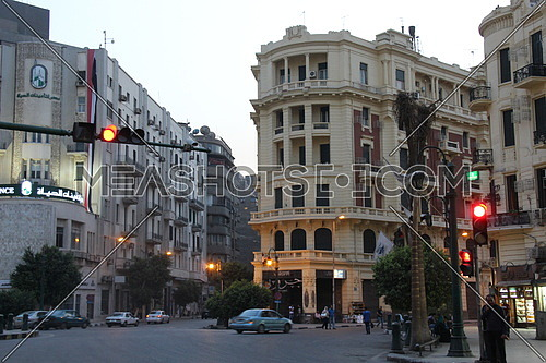 Cairo down town , Talaat Harb square
