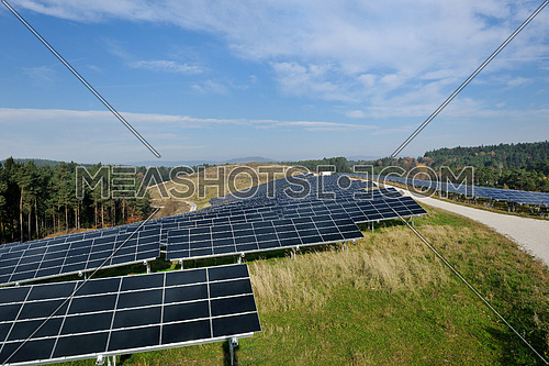solar panel renewable eco  energy field