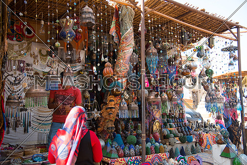 Nubian Village Market in Aswan