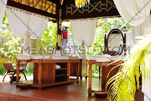 spa beauty and massage center indoors outdoor