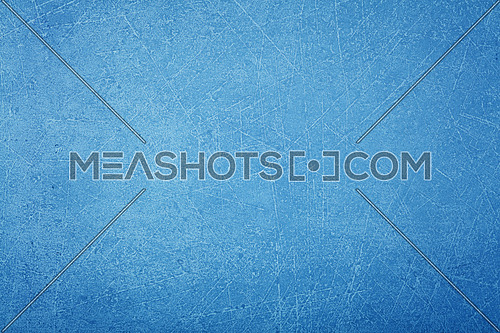 Grunge uneven blue concrete surface background texture