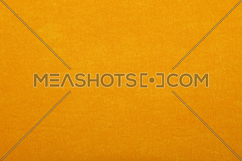 Yellow felt textile material background texture close up
