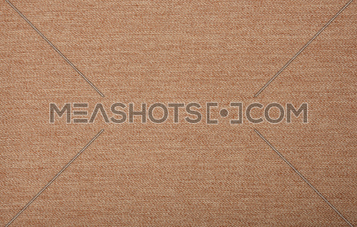 Close up background texture pattern of brown textile upholstery lining