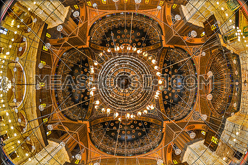 Roof of Mohammed Ali Pasha Mosque