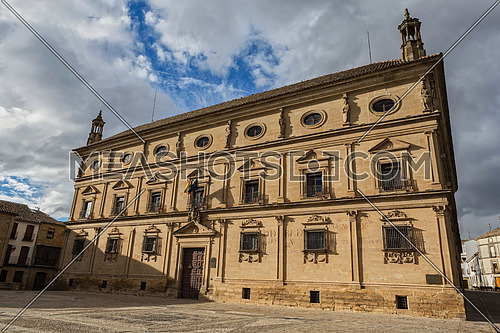 Palace of the chains called De Vazquez de Molina in Ubeda, Andalusia, Spain