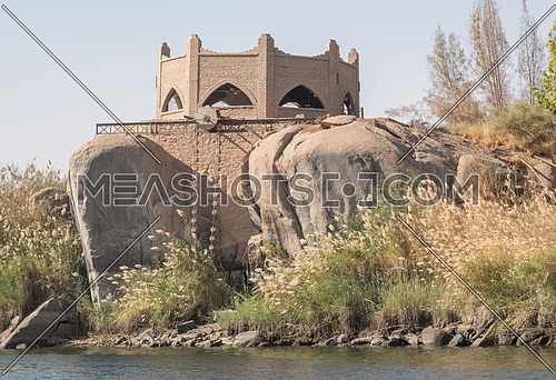 Temple on the Nile River - Aswan