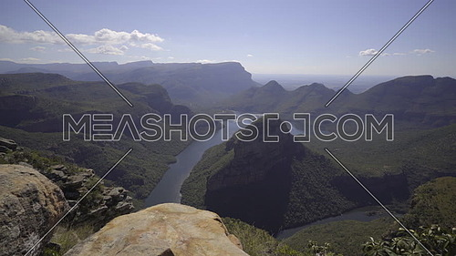 Right pan of the gorgeous Blyde river canyon