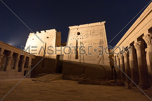 Philae Temple at Night (Aswan)