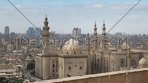 Al Sultan Hasan and Al Rifaii Mosques, Cairo, Egypt
