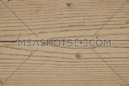 Old vintage rustic aged antique wooden sepia panel with horizontal gaps, planks and chinks