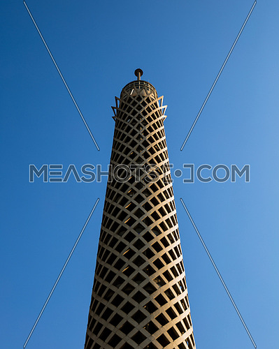 The Cairo tower a symbol of the capital of Egypt and the largest city in the Arab world and Africa.