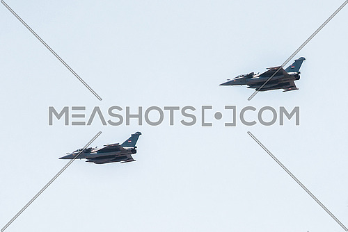 Egyptian air force during Sinai Liberation day celebration 25 April 2016