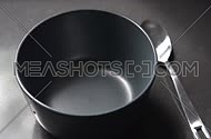 Empty bowl and spoon