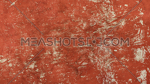 Grunge old vintage dirty shabby distressed red texture background with uneven noise
