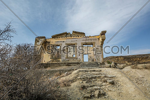 Ruins of Agios Sozomenos  Nicosia district. Cyprus